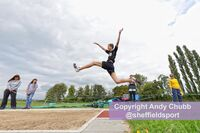 Long Jump, Steel City Cup, Spinkhill, Sept 2014