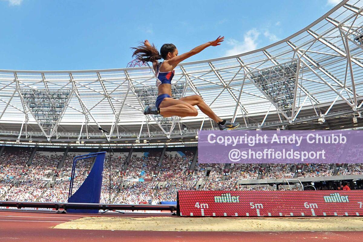 Katarina Johnson-Thompson, Anniversary Games, London Stadium, July 2016