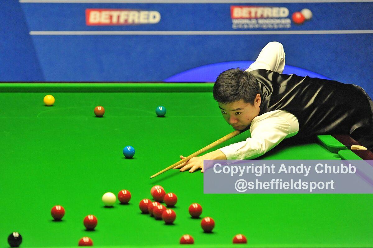 Ding Junhui, World Snooker Championship, Crucible Theatre, April 2015