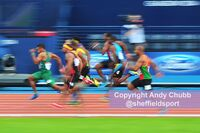100m, 2014 Commonwealth Games, Glasgow, July 2014