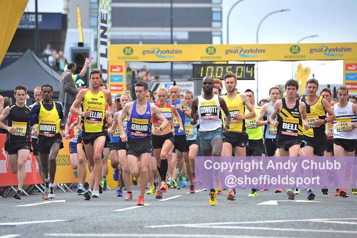 Great Yorkshire Run, Sheffield, Sept 2015