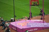 Holly Bradshaw, pole vault, 2012 Olympics, London Stadium, August 2012