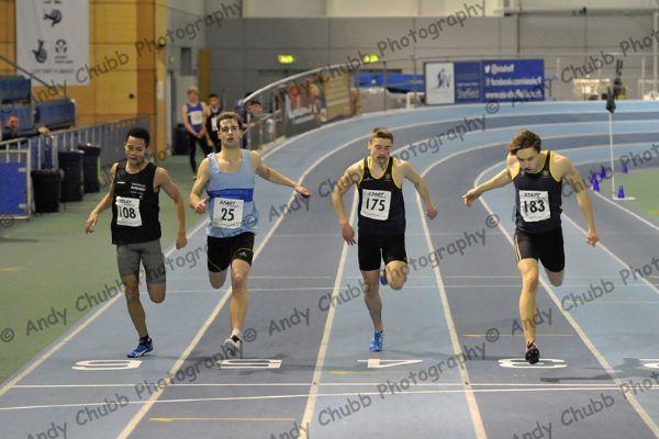 Close Call, Men's 200m