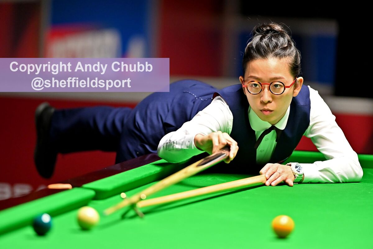 Ng On Yee, qualifiers, World Snooker Championship, EIS Sheffield, April 2019