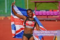 Dina Asher-Smith, UK Championships, Alexander Stadium, Birmingham, August 2019