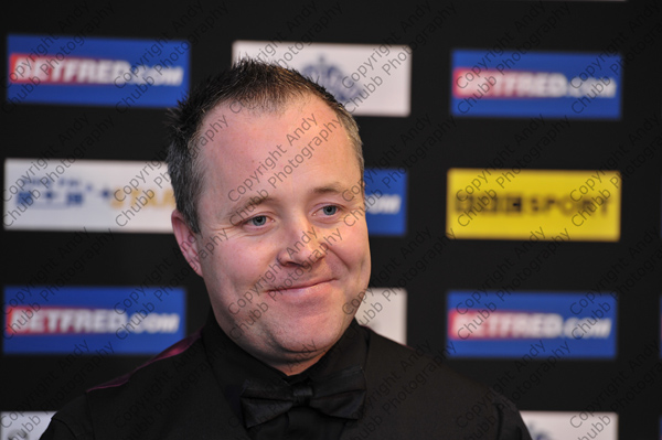 John Higgins, Press Conference
