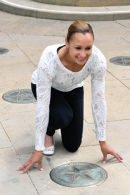 jessica ennis walk fame sheffield 9474