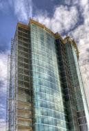 New tower block, Sheffield.