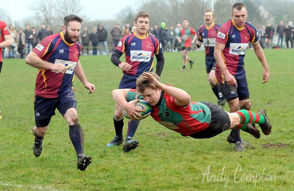 A Try for Cleobury