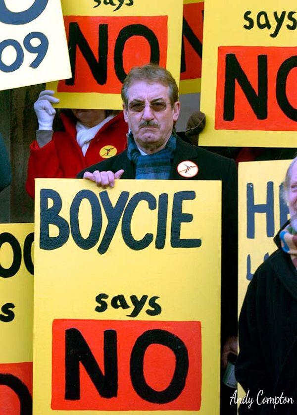 Boycie Say No!