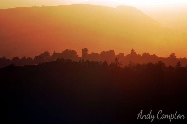Sunset from Bradnor Hill