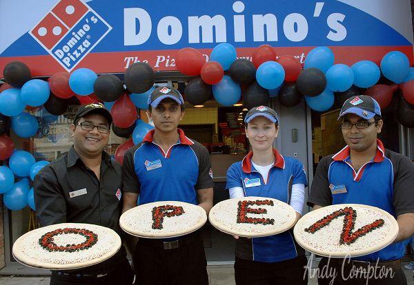 Dominos is Open