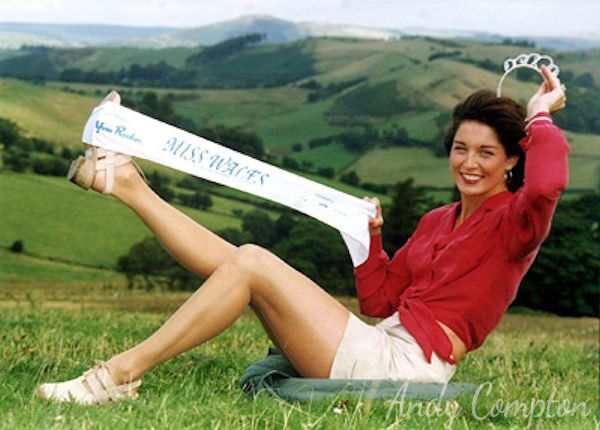 Miss Wales' Julie Davis