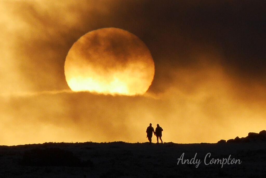 An Offa's Dyke Sunset on Hergest Ridge