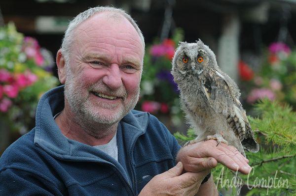 Small Breeds Farm Jay and an Owl