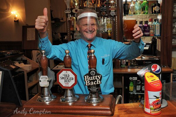 The Burton Hotel landlord John Richardson