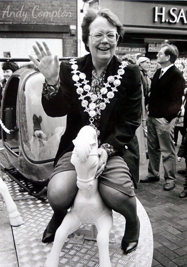 The Mayor of Hereford Jo Kelly