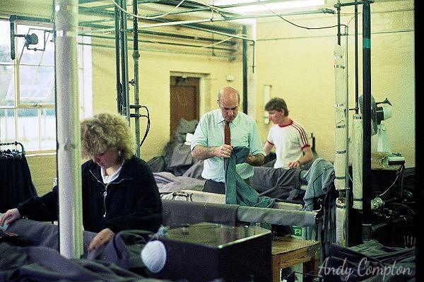 Kington Trouser Factory 1986