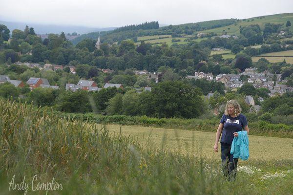 Walking the Wyche Way from Kington