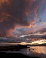 Doune sunset