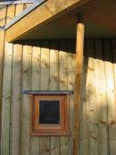 timber framed structure