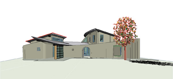 proposal for a new energy efficient house in dorset