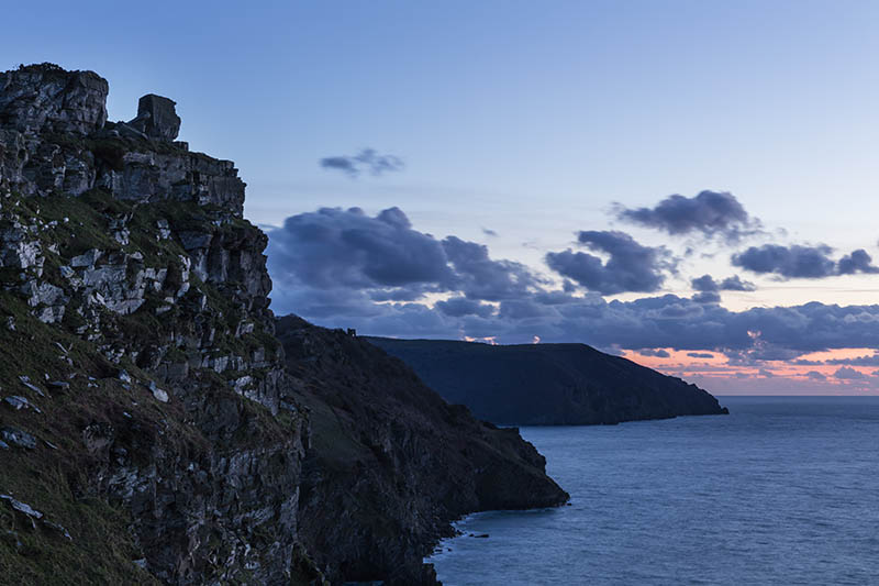 Dusk On The North Devon Coast