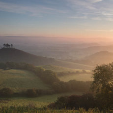 Sunrise Over Colmers Hill