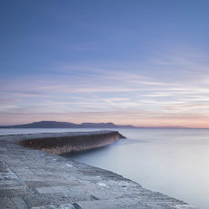 Harbour Wall Sunrise