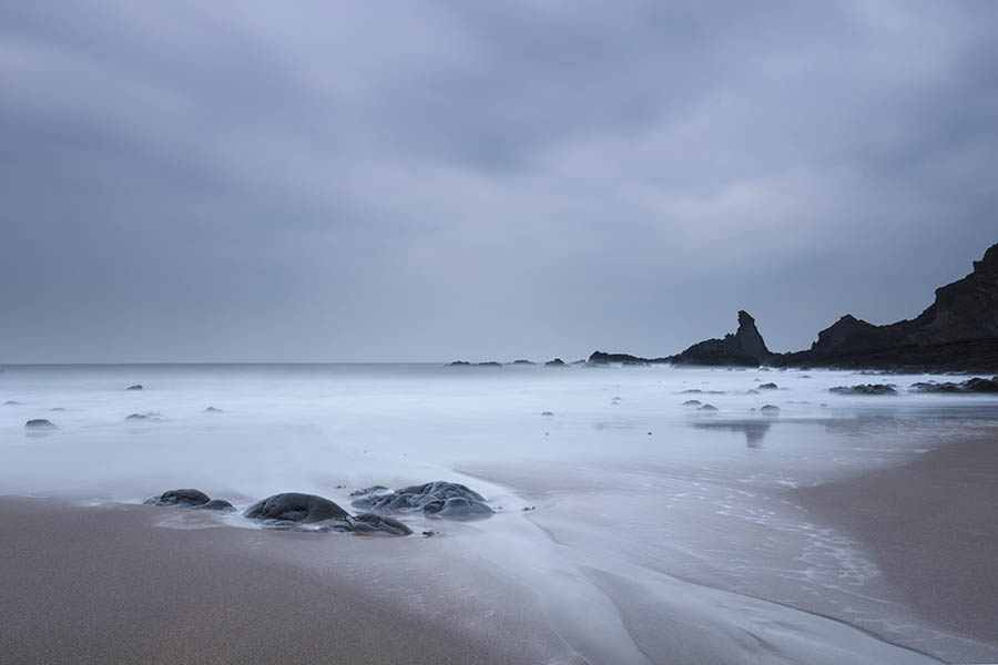 Broad Beach Low Tide