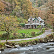 Autumn At Watersmeet House