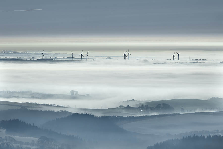 Windmills In The Mist