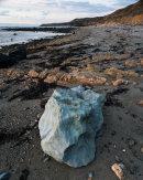 Blue Boulder, Porth Trwyn, Anglesey