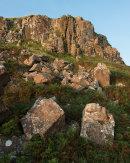 Cliffs, Dun Ara, Mull