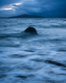 Dusk Over Holyhead, Porth Trwyn, Anglesey