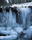 Frozen Stream, Roddlesworth Woods