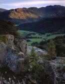 Glaramara from Castle Crag.