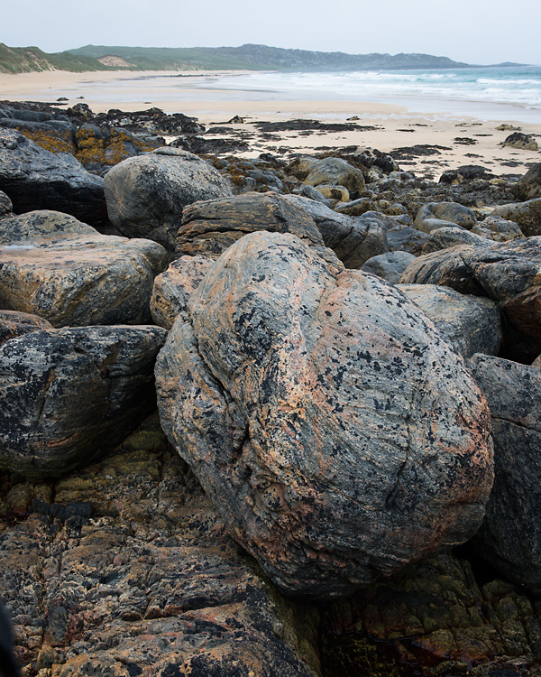 Gneiss Boulders, Hogh Bay, Isle of Coll