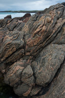 Gneiss, Traigh Bheireal, North Uist