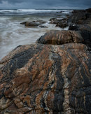 Gneiss, Traigh Stir, North Uist