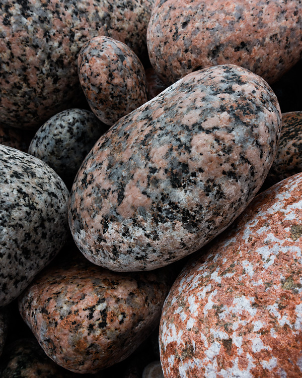 Granite Pebbles, Iona