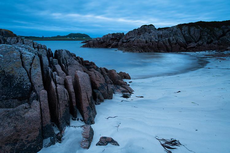 Iona from Fionnphort Beach