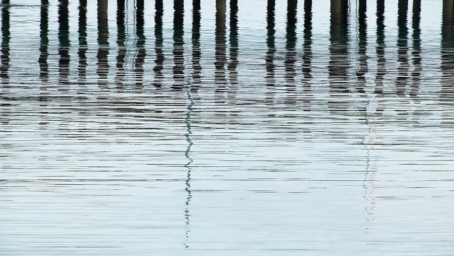 Jetty Reflections, Scarinish, Isle of Tiree