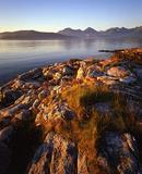 Evening light, Kvaloya, near Tromso, Norway