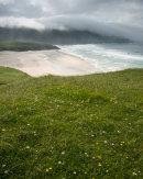 Machair above Traigh na Clibhe