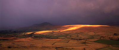 Pen-y-Ghent and Ribblesdale