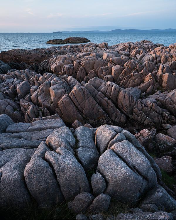 Pink Granite, Kintra, Mull