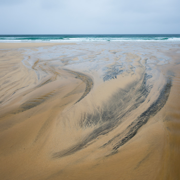 Sand Patterns, Feall Bay, Isle of Coll