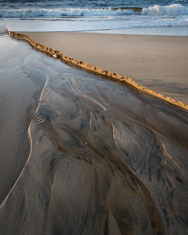 Sand Bar, Clabbach Bay, Isle of Coll