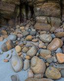 Sandstone Boulders, Doun Helzie, Sanday